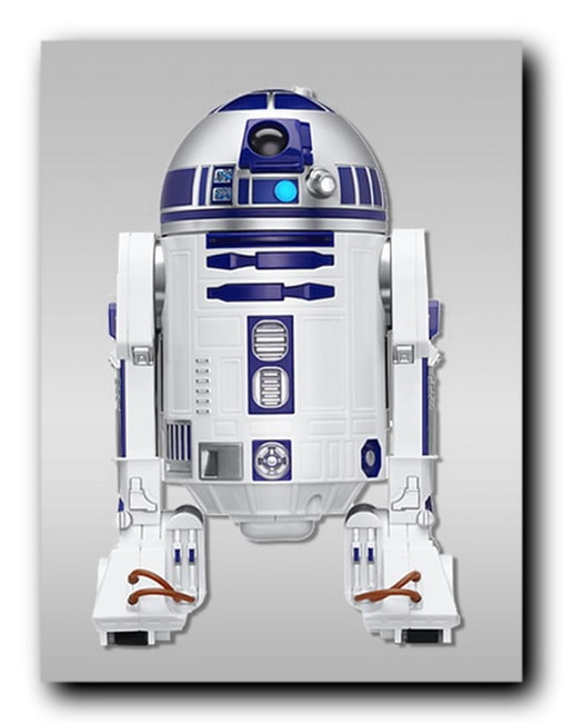 Sphero Star Wars R2-D2 и iPhone X